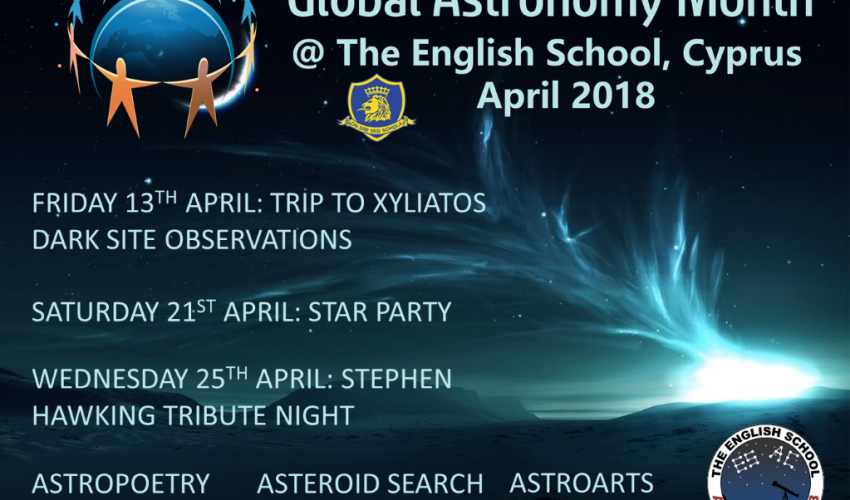 Global Astronomy Month 2018