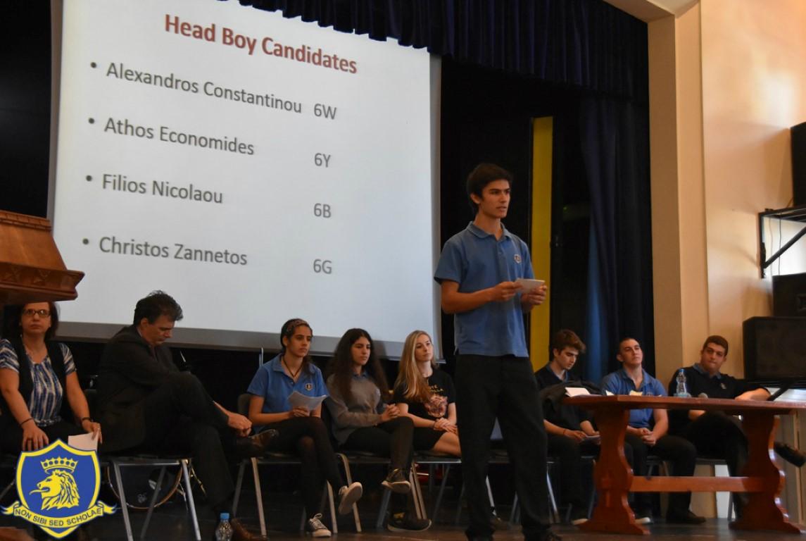speech for school head girl election