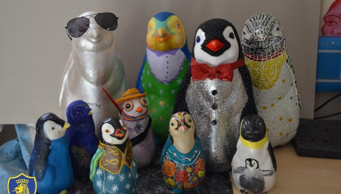 Look who waddled back to The English School.  They want a home. Join us on 13/12  for a charity auct